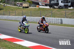 Niklas Ajo lidera el primer día del GP de Cataluña