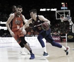 El Barça gana 'in extremis' en la Fonteta y Valencia Basket será 4º