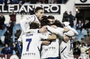 El Zaragoza golea y rompe la racha frente al Barcelona B