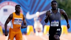 Atletica, Trials USA: 100 a Gatlin, decolla Claye nel triplo