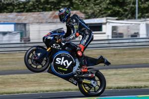 Moto2, Le Mans: dominio Bagnaia, secondo Marquez. Mir centra il primo podio