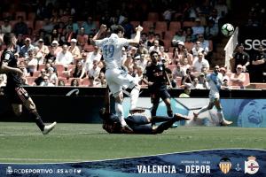 Valencia CF - Deportivo de La Coruña, puntuaciones del Deportivo, jornada 38 de La Liga