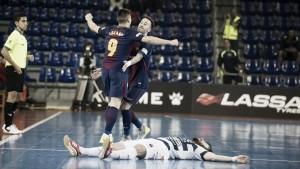 El Barça avanza con frialdad a semifinales
