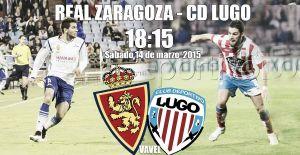 Real Zaragoza - CD Lugo: duelo de objetivos
