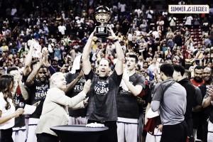Los Angeles Lakers, campeones en Las Vegas sin Ball