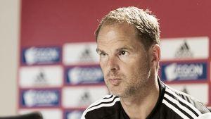 Frank de Boer: ''Ha sido un día de descanso total''