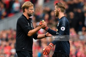 "David De Gea admits Liverpool outplayed ""happy"" Man Utd in 0-0 draw"