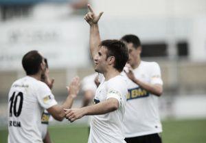Jorge Galán anota el gol de la Jornada 2 de Segunda División B