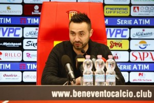 """Un super Benevento abbatte la Sampdoria: 3-2 al """"Vigorito"""" e salvezza meno lontana"""