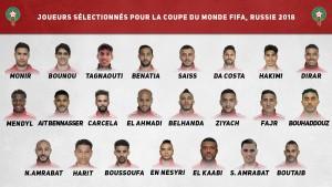 Los 23 seleccionados de Marruecos para el Mundial