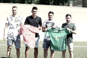 Sergio Rivera, Eneko Iriondo, Borja Hernández y Juanra Martínez ya visten la camiseta del Guijuelo