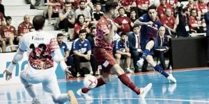 Un Barça muy superior vence a ElPozo para ser el segundo finalista de la LNFS
