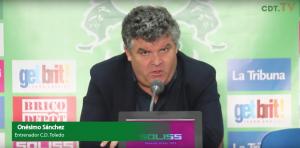 """Onésimo Sánchez: """"No hay rival propicio en este grupo"""""""