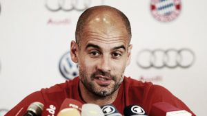 """Pep Guardiola: """"Estoy muy contento con mis jugadores"""""""