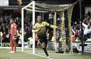 Watford 3-2 Aston Villa: Deeney's dramatic double denies Villa a rare win