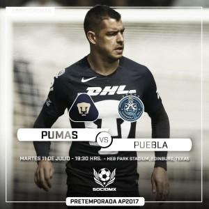 Resultado del Pumas vs Puebla en la Copa Socio MX (0-0) (Penales 1-4)