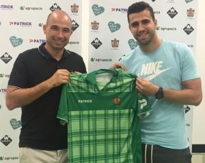 Sascha Andreu, nuevo jugador del Cornellà