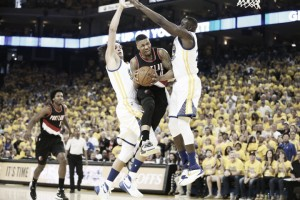 Thompson y Green suplen a la perfección a Curry
