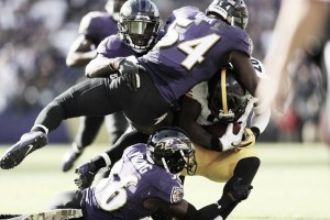 La defensa de los Ravens vence a los Steelers