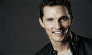 Matthew McConaughey protagonizará 'Gold' y 'Born to run'