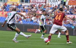 Roma-Sassuolo: frenata giallorossa sul 2-2