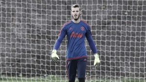 De Gea says he is 'really happy' at Man United after transfer saga