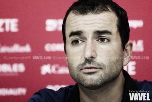 Diego Martínez, contento con el punto en Tarragona