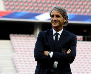 """Mancini: """"Il capitano è il calciatore con maggior presenze, Balotelli è in dubbio"""""""