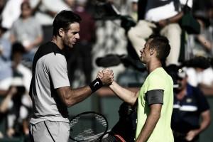 Del Potro vence Kohlschreiber de virada e vai à semifinal de Indian Wells