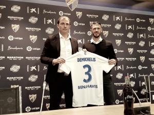 """Demichelis: """"Era un sueño terminar mi carrera en River o Málaga, y aquí estoy"""""""