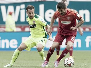 FC Kaiserslautern 1-1 Fortuna Düsseldorf: Gaus strikes late to save a point
