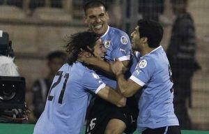 Uruguay golea y firma la clasificación virtual para Brasil