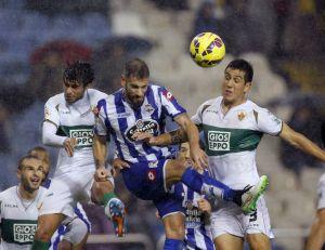 Deportivo de la Coruña - Elche: puntuaciones del Elche, jornada 15