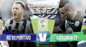 Resultado Deportivo de La Coruña vs Córdoba CF [1- 1]
