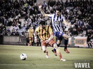 Dépor y Barça B se reparten los puntos en un partido sin dominador claro