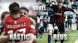 Previa Nàstic de Tarragona - CF Reus: derbi para coger aire