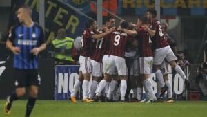 Inter-Milan, rossoneri beffati all'ultimo. Le parole di Vincenzo Montella
