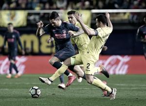 El Atlético vuelve a sucumbir a la fiebre amarilla