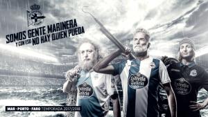 Nuevas camisetas del Deportivo temporada 2017-18