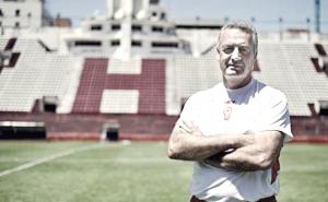 """Gustavo Alfaro: """"Queremos estar arriba porque la ilusión nuestra es tratar de clasificar a una Copa Internacional"""""""