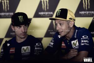 Valentino Rossi viajará a Aragón y el viernes decidirá si corre o no