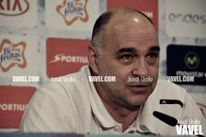 """Pablo Laso: """"La diferencia al descanso ha sido definitiva"""""""