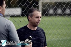 """Gustavo Álvarez: """"Se esta haciendo todo para que Temperley mantenga la categoría"""""""