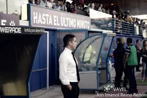 """Julio Velázquez: """"Estoy encantado con todos los jugadores, independientemente de la victoria de hoy"""""""