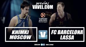 Previa Khimki - Barcelona Lassa: Moscú y Bartzokas esperan
