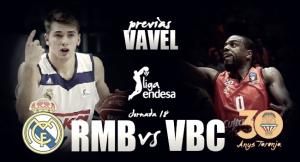 Previa Real Madrid - Valencia Basket: lucha por la primera posición