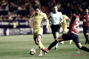 Sangalli, elegido como mejor jugador ante el Osasuna por la afición