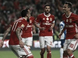 Crónica Taça CTT SL Benfica-Vizela: Los encarnados golearon y son líderes