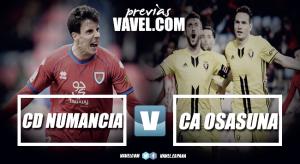 Previa Numancia - Osasuna: ganar para seguir soñando