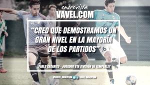 """Entrevista. Pablo Casarico: """"Fue un muy buen torneo, tanto en lo grupal como en lo individual"""""""